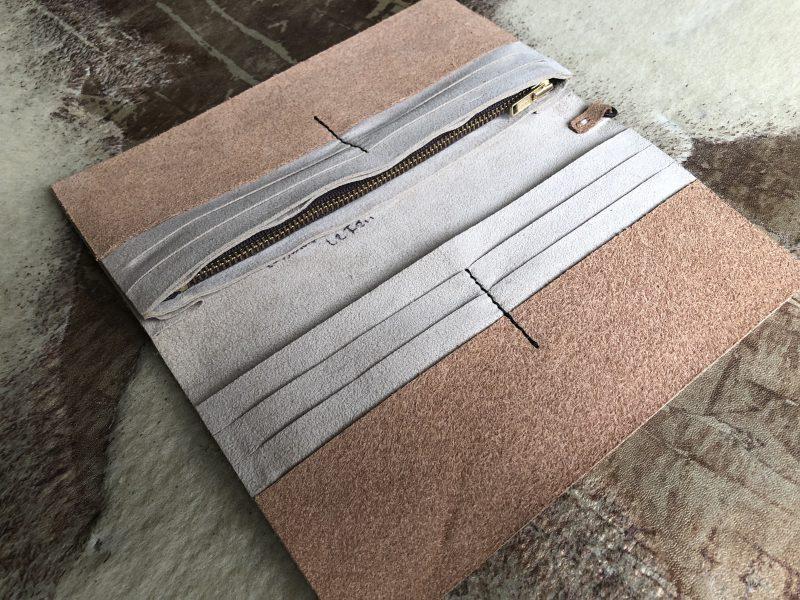 クロコオーダー財布のサンプル