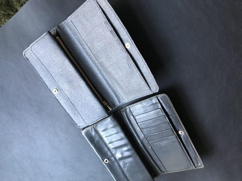財布オーダーサンプル