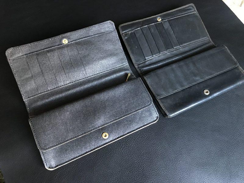 オーダーメイド財布サンプル