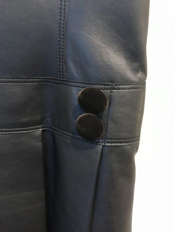 黒革ワンピースオーダーメイド
