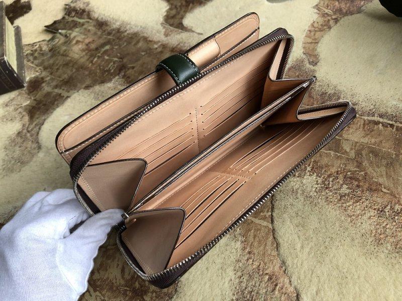 ブライドルレザー革の手帳カバーオーダーメイド
