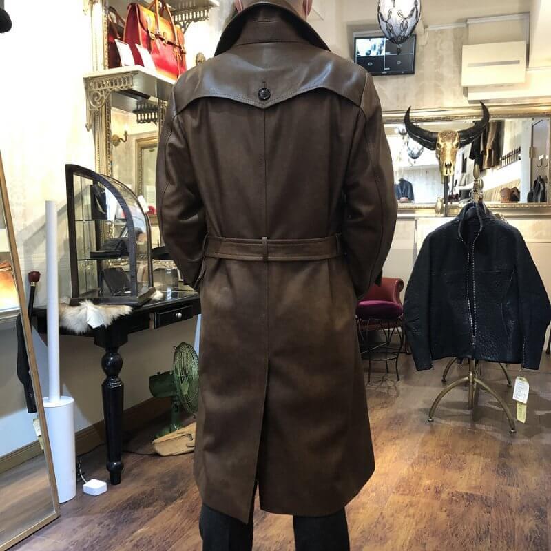レザーコート/革ジャケットの再現オーダーメイド