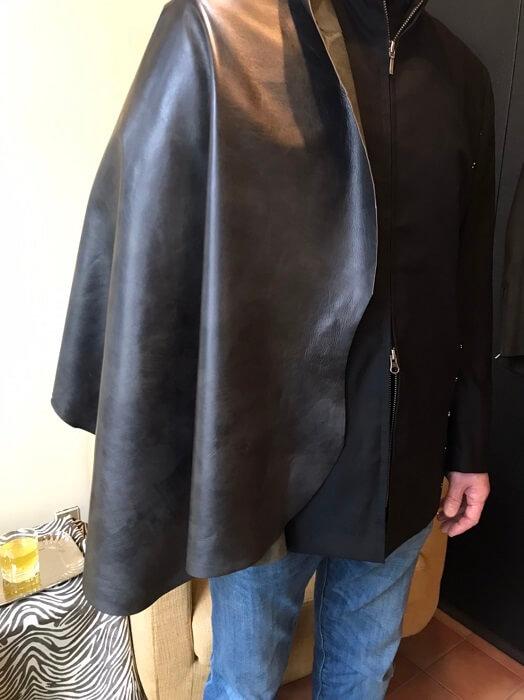 手染羊革ジャケットフルオーダー